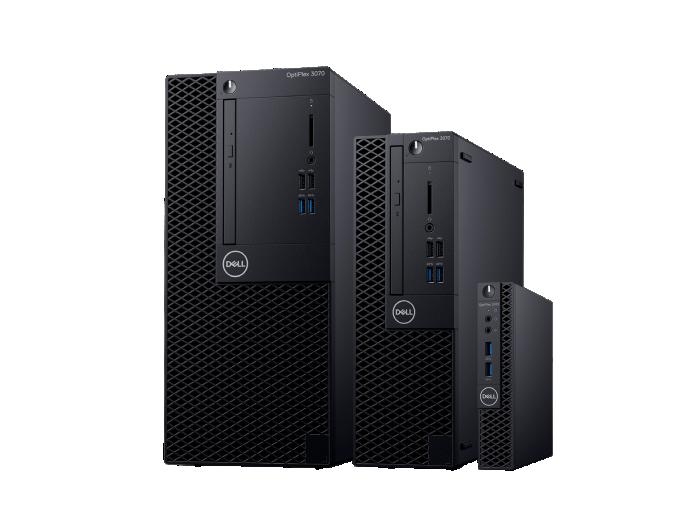 Počítače Dell OptiPlex 3070 Tower, SFF, MFF