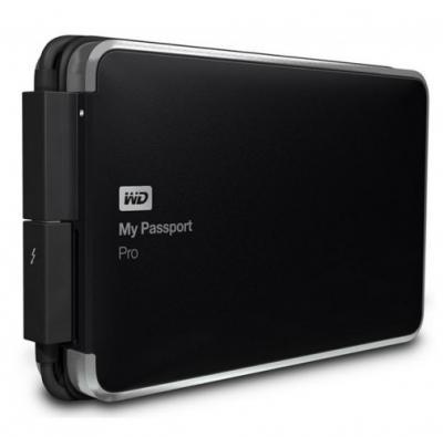 "Western Digital Externý disk 2.5"" My Passport Pro 2TB TB RAID"