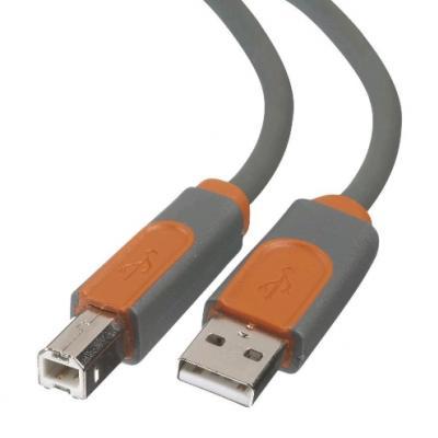 BELKIN USB 2.0 A - USB 2.0 B prepojovací kábel M/M 1,8m prémiový