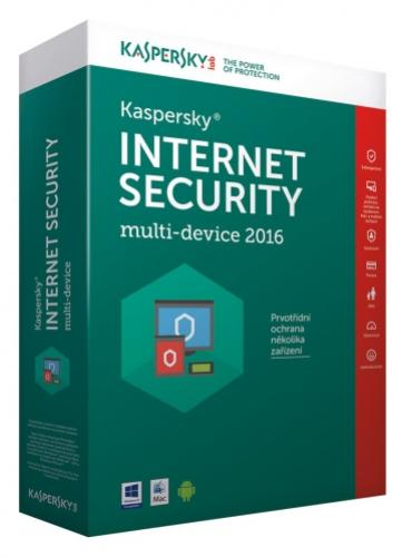 Kaspersky Internet Security 1+1 PC/1rok