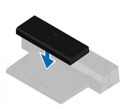 DELL Dokovacia rozpera Latitude E-Docking Spacer