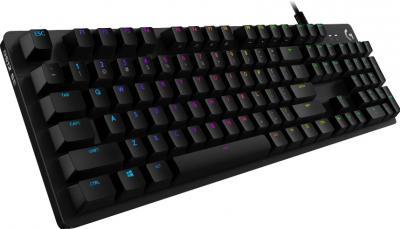 LOGITECH G512 herná mechanická klávesnica US Carbon