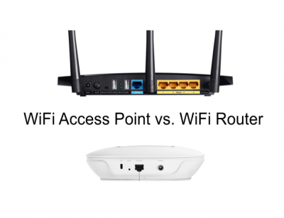 WiFi Access Point vs. WiFi Router