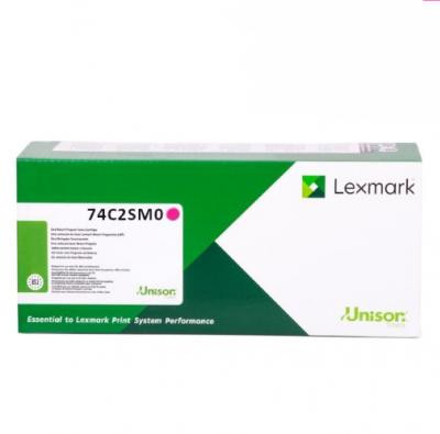 Lexmark 74C2SM0 purpurový laserový toner