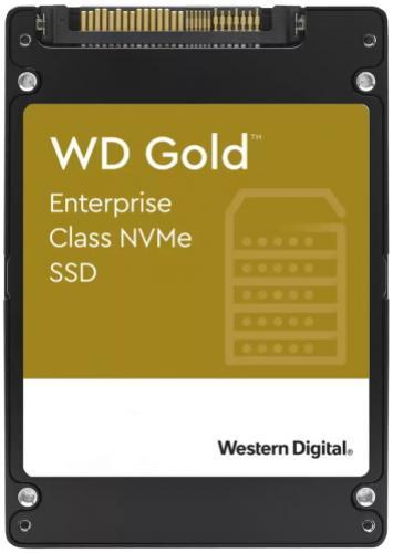 "Western Digital SSD 2,5"" 7,68TB Gold U.2 PCIe NVMe"